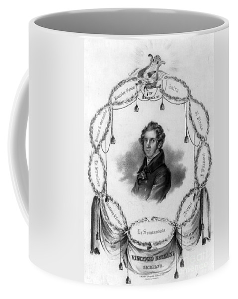 Fine Arts Coffee Mug featuring the photograph Vincenzo Bellini, Italian Composer by Science Source