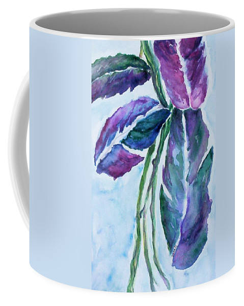Landscape Coffee Mug featuring the painting Vine by Suzanne Udell Levinger