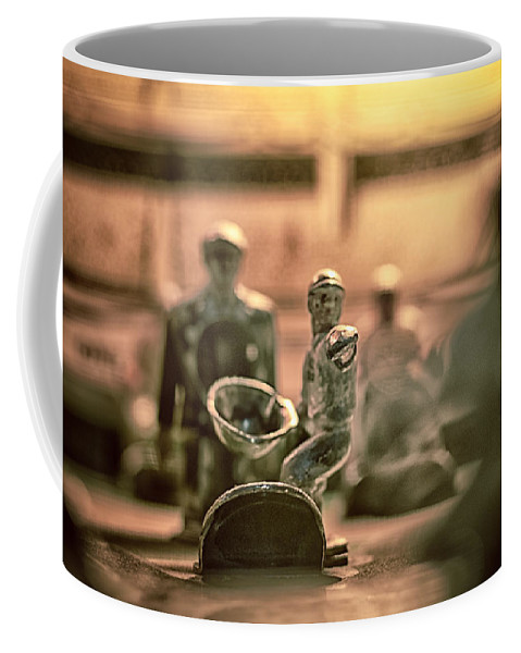 Baseball Coffee Mug featuring the photograph Vintage Baseball by Scott Wyatt