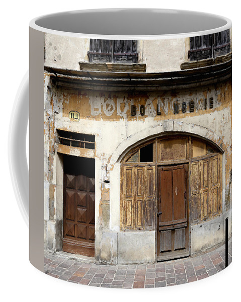 Boulangerie Coffee Mug featuring the photograph Vintage Boulangerie 1 by Andrew Fare