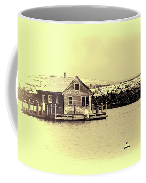 Cape Cod Coffee Mug featuring the photograph Vintage Cape Cod by Eleanor Bortnick