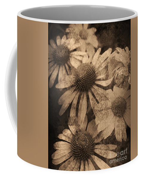 Vintage Coffee Mug featuring the photograph Vintage Flowers by Tara Turner