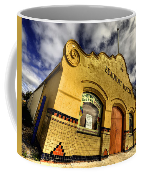 Architecture Coffee Mug featuring the photograph Vintage Gem by Wayne Sherriff