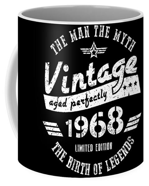 Vintage Coffee Mug featuring the digital art Vintage by Jill Glennie