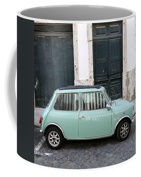 Mini Coffee Mug featuring the photograph Vintage Mini Minor by Andrew Fare