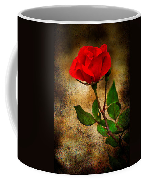 Rose Coffee Mug featuring the photograph Vintage Rose by Rich Leighton