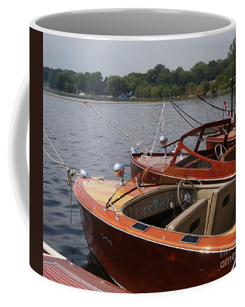 Boats Coffee Mug featuring the photograph Vintage Row by Neil Zimmerman