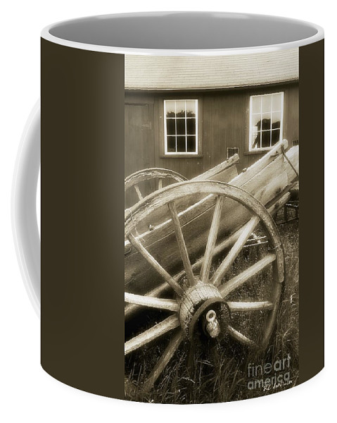 Barn Coffee Mug featuring the photograph Vintage Tableau by RC DeWinter