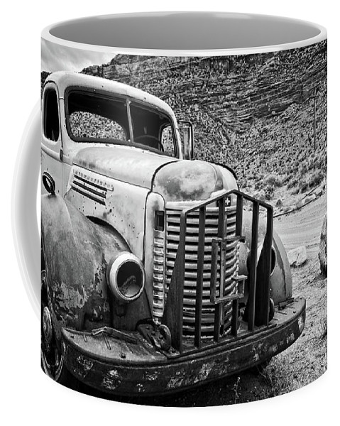 Truck Coffee Mug featuring the photograph Vintage Truck by Delphimages Photo Creations