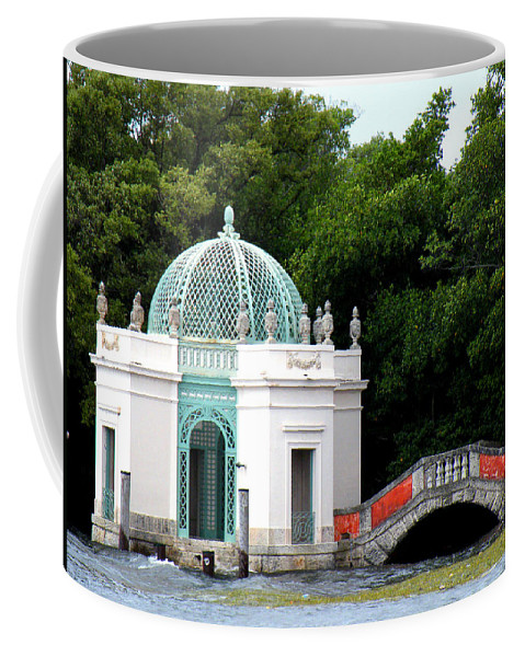 Landscape Coffee Mug featuring the photograph Viscaya by Patricia Awapara