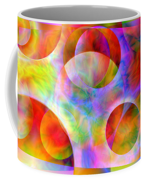 Colors Coffee Mug featuring the digital art Vision 29 by Jacques Raffin