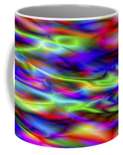 Colors Coffee Mug featuring the digital art Vision 5 by Jacques Raffin