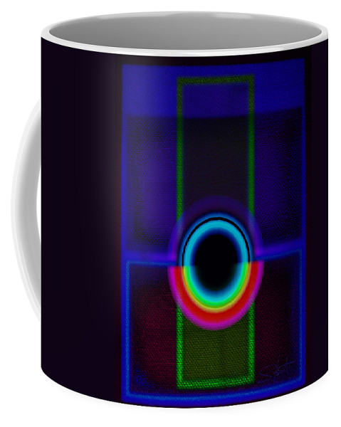 Portal Coffee Mug featuring the painting Vista by Charles Stuart