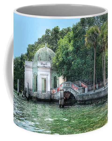 Vizcaya Coffee Mug featuring the photograph Vizcaya Bridge by Jim Cole