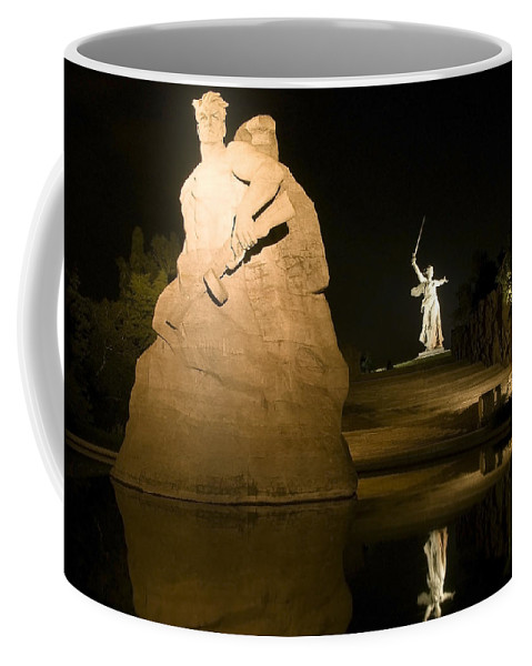 Architecture Coffee Mug featuring the photograph Volgograd2 by Svetlana Sewell