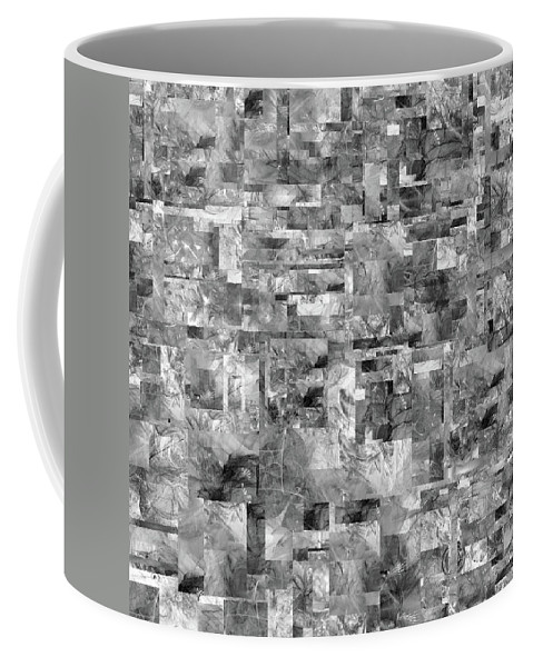 Abstract Coffee Mug featuring the digital art Volkswirtschaft by Betsy Knapp