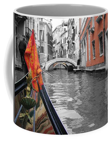 Cityscape Coffee Mug featuring the photograph Voyage Of Venice by Dylan Punke
