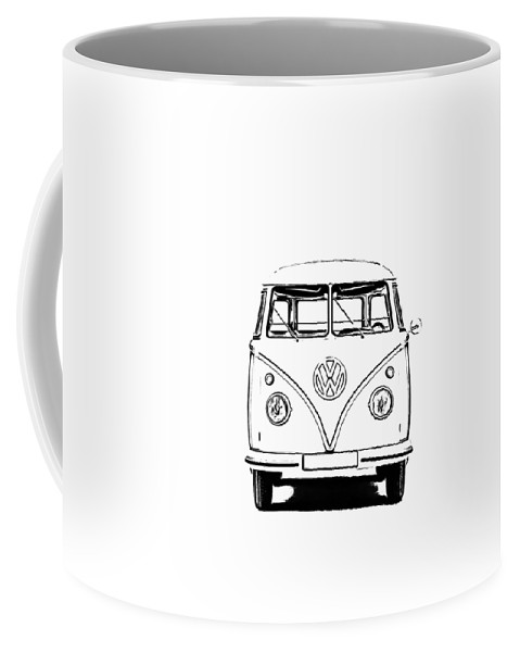 Vw Coffee Mug featuring the photograph Bus by Edward Fielding