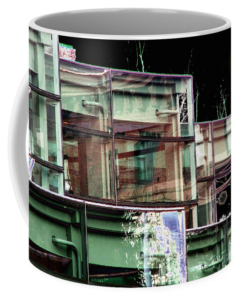 Seattle Coffee Mug featuring the digital art Wa State Convention And Trade Center by Tim Allen