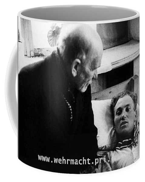 Waffen-ss Harald Nugiseks Received Knights Cross 1944 Coffee Mug