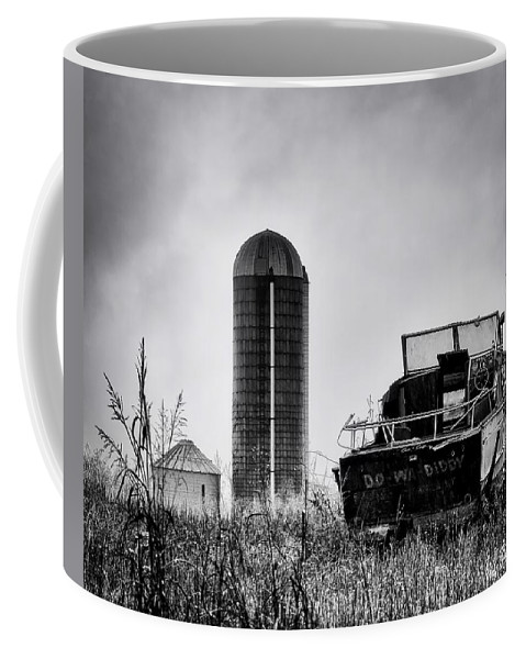 Black And White Coffee Mug featuring the photograph Waiting For Spring by Michael Vines