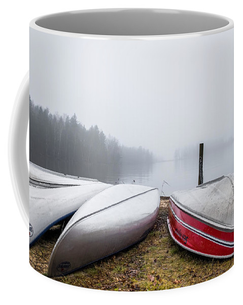Beach Coffee Mug featuring the photograph Waiting For The Right Season by Ludwig Riml