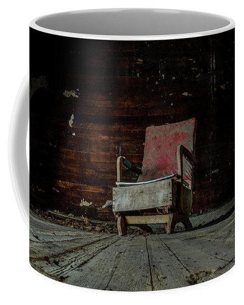 Coffee Mug featuring the photograph Waiting by Jim Figgins