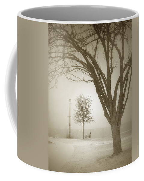 Storm Coffee Mug featuring the photograph Waiting Out The Storm by Tara Turner