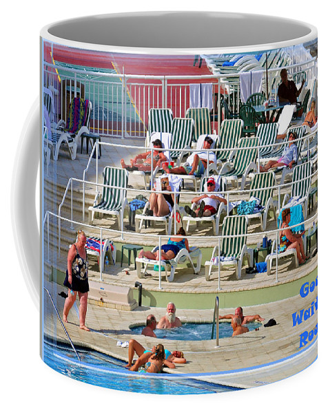 Snowbirds Coffee Mug featuring the photograph Waiting Room by Davids Digits