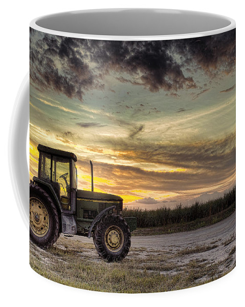 Landscape Coffee Mug featuring the photograph Waiting To Harvest by Roberto Aloi