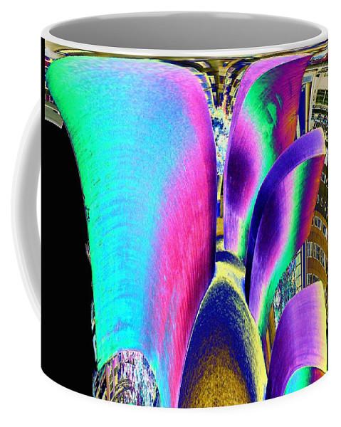 Wake Coffee Mug featuring the photograph Wake by Tim Allen