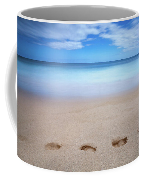 Kauai Coffee Mug featuring the photograph Walk Along by Jason Dodd