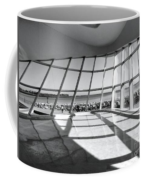 Lake Michigan Coffee Mug featuring the photograph Walk Along The Lake by David Bearden