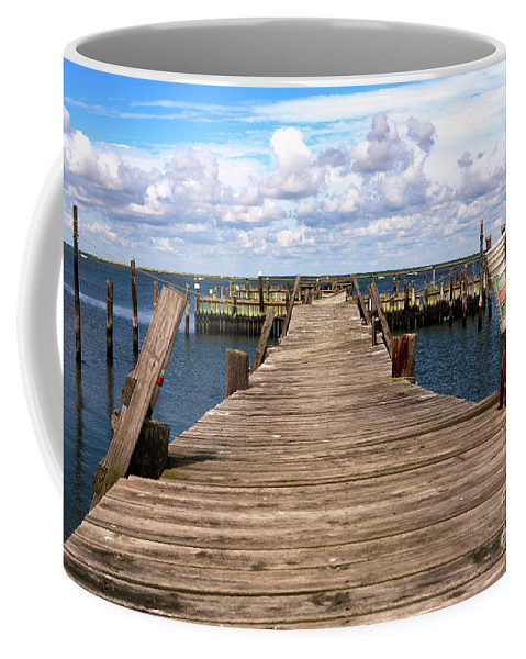 Walk Out Coffee Mug featuring the photograph Walk Out by John Rizzuto