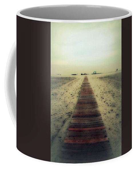 Nature Coffee Mug featuring the photograph Walk With Me by Linda Sannuti