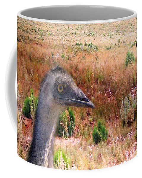 Animals Coffee Mug featuring the photograph Walkabout by Holly Kempe