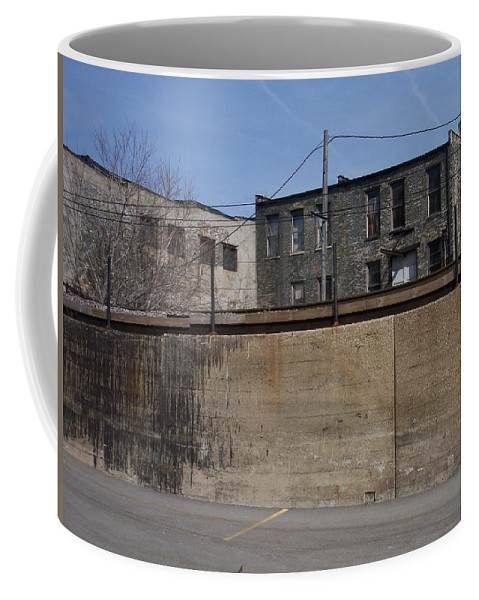 Walker's Point Coffee Mug featuring the photograph Walker's Point 1 by Anita Burgermeister