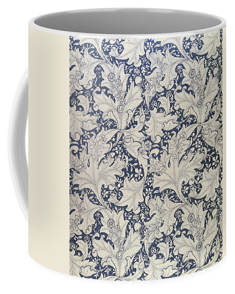 Wallflower Coffee Mug featuring the tapestry - textile 'wallflower' Design by William Morris