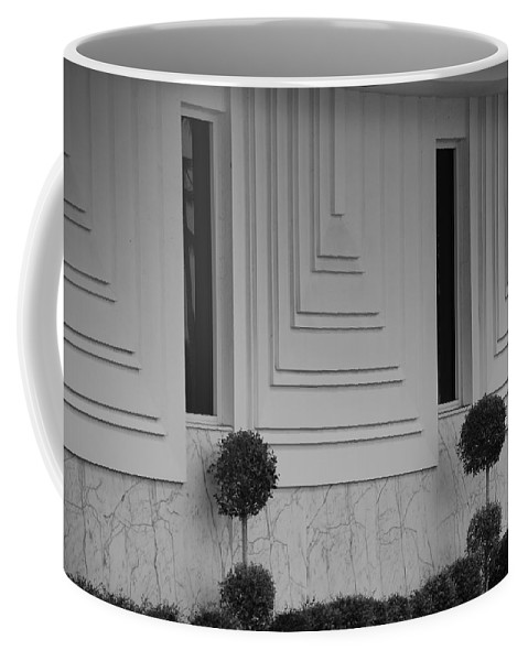 Architecture Coffee Mug featuring the photograph Walls And Windows by Rob Hans