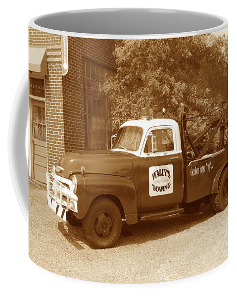 Antique Coffee Mug featuring the photograph Wally by Eric Liller