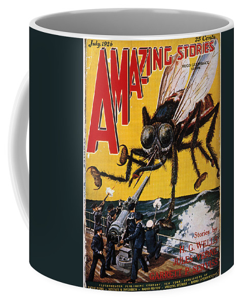 1927 Coffee Mug featuring the photograph War Of The Worlds, 1927 by Granger
