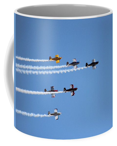 Airplanes Coffee Mug featuring the photograph Warbirds II by Lorraine Baum