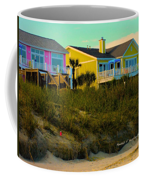 Kendall Kessler Coffee Mug featuring the photograph Warm Evening At Isle Of Palms by Kendall Kessler