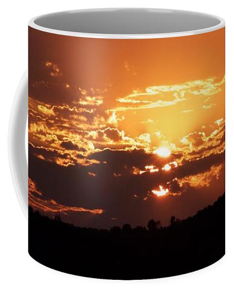 Sunset Coffee Mug featuring the photograph Warm Sunset by Tiffany Erdman