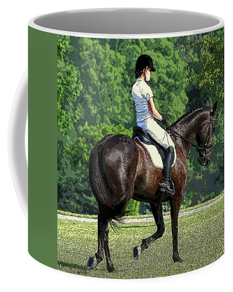 Photoshop Coffee Mug featuring the photograph Warming Up by Jenny Gandert