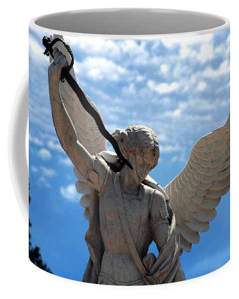 Warrior Coffee Mug featuring the photograph Warrior Angel by Susanne Van Hulst