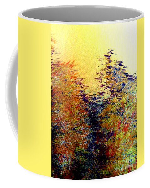 Warrior Coffee Mug featuring the painting Warrior by Tim Townsend