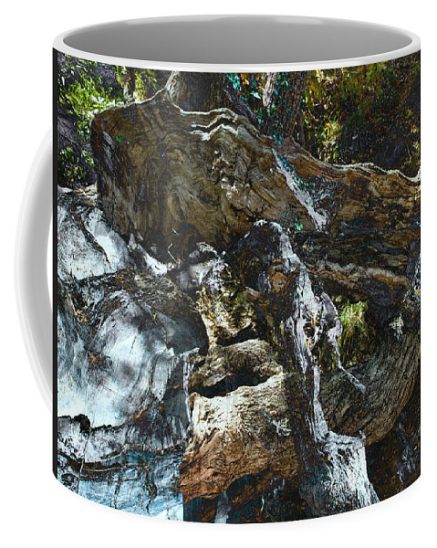 Trees Coffee Mug featuring the photograph Washed Away by Kelly Jade King