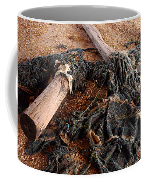 Clay Coffee Mug featuring the photograph Washed Up by Clayton Bruster