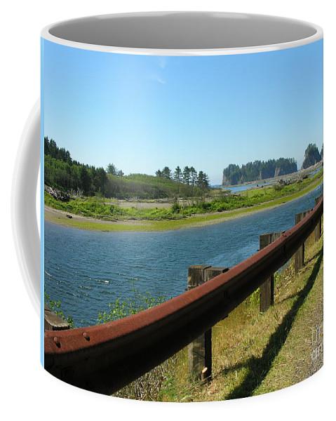 Washington Coast Coffee Mug featuring the photograph Washington Coast by Diane Greco-Lesser